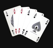 Five aces poker hand by Sandra O'Connor