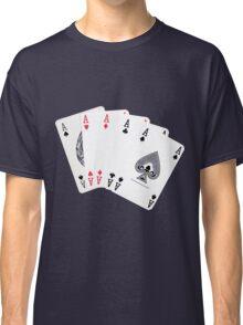 Five aces poker hand Classic T-Shirt