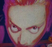 Trippy Self-Portrait by Rik Kent