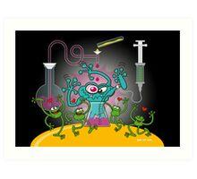 Mutant Toad Art Print