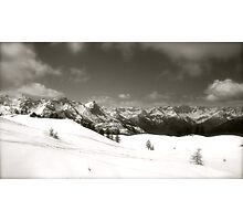 Italy mountains Photographic Print