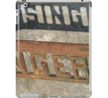 The Singer Sewing Machine  iPad Case/Skin