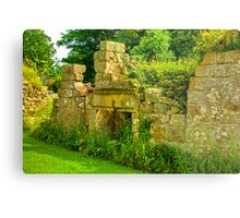 Disused Fireplace Metal Print