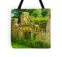Disused Fireplace Tote Bag