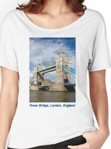 Tower Bridge, London, United Kingdom Women's Relaxed Fit T-Shirt