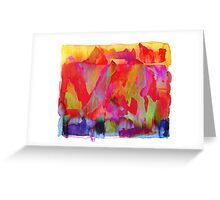color madness Greeting Card