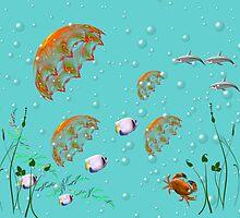 Underwater world by Yvonne Müller