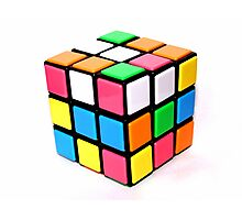 Rubix Cube. Photographic Print