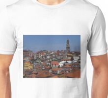 Ribeira and Cordoaria Roof Tops Unisex T-Shirt