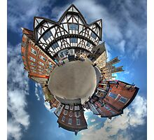 Planet Lincoln Photographic Print