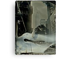 Empire State Building Tintype Canvas Print