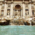 The Trevi Fountain by Slavi Barnev