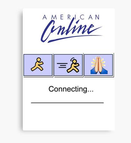 American Online Canvas Print