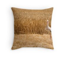 STORK Throw Pillow
