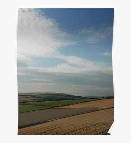 Sussex Landscape Poster