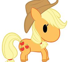 Chibi Applejack by tamurakitty