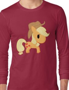 Chibi Applejack Long Sleeve T-Shirt