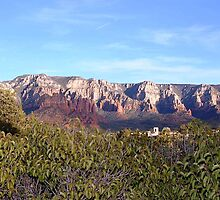 Sedona Moutain Range by GL Brannock