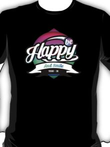 """""""Be happy and smile."""" [Yoshi - 3K Limited Edition] T-Shirt"""