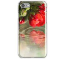 flower touch iPhone Case/Skin
