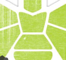 Heisenberg 'Golden Moth' Chemical Logo Shot with Bullet Holes Sticker