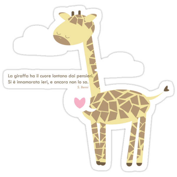 giraffa by claclina