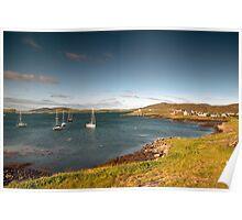 Barra: Early Morning in Castlebay Poster