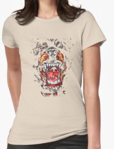 GIVENCHY ROTTWEILER Womens Fitted T-Shirt