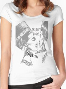 the beautiful has come  Women's Fitted Scoop T-Shirt