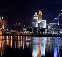 Downtown Cincinnati by DESY photowerks