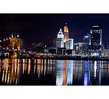 Downtown Cincinnati Photographic Print