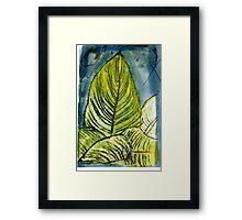 My Uganda-  Tiger Lily Framed Print