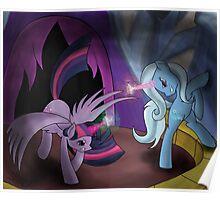 """So we meet again, 'Princess' Twilight Sparkle."" Poster"