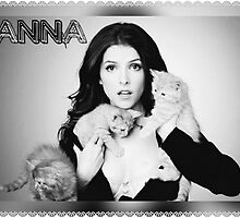 Anna Kendrick Kittens Poster by TotesAmazePhan