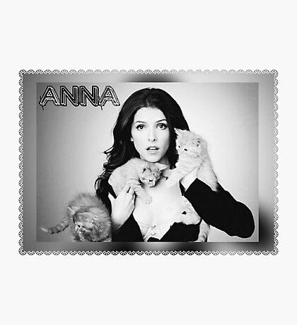 Anna Kendrick Kittens Poster Photographic Print