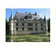 Château d'Azay-le-Rideau Art Print