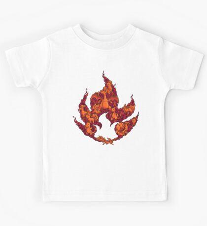 PokeDoodle - Fire Kids Tee
