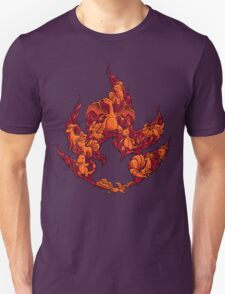 PokeDoodle - Fire Unisex T-Shirt