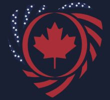 Canadian American Multinational Patriot Flag Series 2.0 Kids Clothes