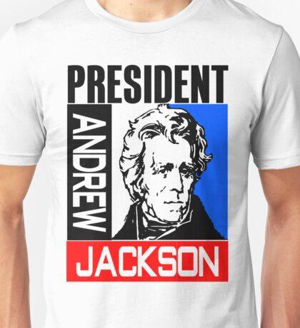 ANDREW JACKSON-3A Unisex T-Shirt