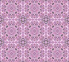 Pink ornament wallpaper by davidzydd