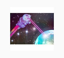 Galaxy Cat with Lazers Shooting Unisex T-Shirt