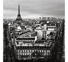 Paris cityscape II Photographic Print