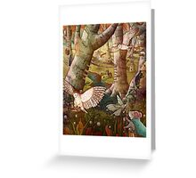 Of Mice and Owls Mouse Guard Fan Art Greeting Card