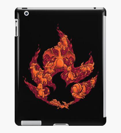 PokeDoodle - Fire iPad Case/Skin