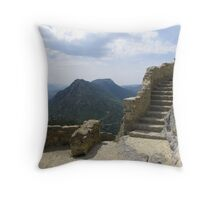 One thousand years of footsteps Throw Pillow