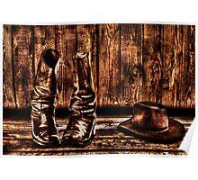 Western Memories Fine Art Print Poster