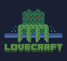 Lovecraft Minecraft Kids Tee