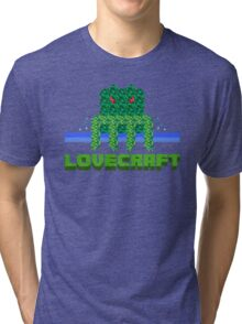 Lovecraft Minecraft Tri-blend T-Shirt