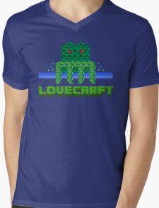 Lovecraft Minecraft Mens V-Neck T-Shirt